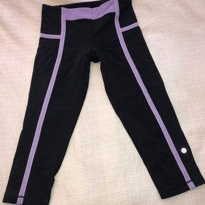 Lululemon crops pants